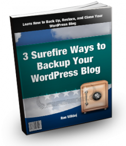 3 Surefire Ways To Back Up Your WordPress Blog Cover